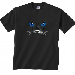 black-cat-blue-eyes-blueeyes-tshirt